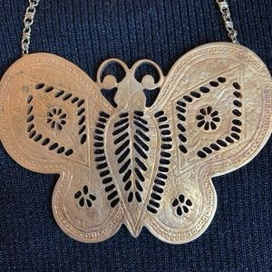 Sex and the City  butterfly necklace